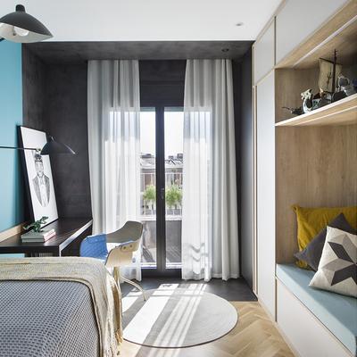 Un piso que ofrece lugar para la privacidad y para compartir en familia