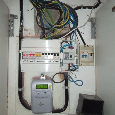 Reformar instalación eléctrica