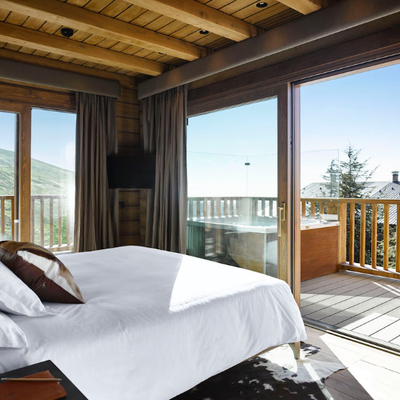 Lodge ski & spa dormitorio