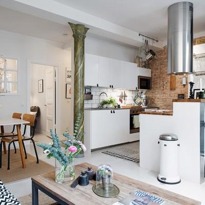 Loft cocina y comedor