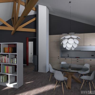 Loft, espacio de trabajo y vivienda