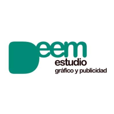 LOGOTIPO DEEM ESTUDIO GRÁFICO Y PUBLICIDAD