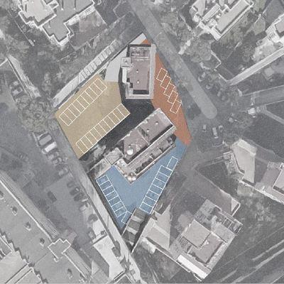 Proyecto de Aparcamiento en edificio existente