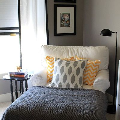 sofá blanco uniplaza