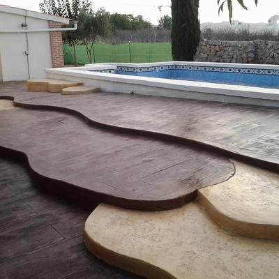 madera y manta