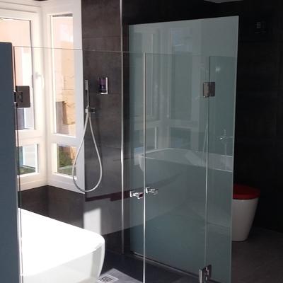mampara baño principal