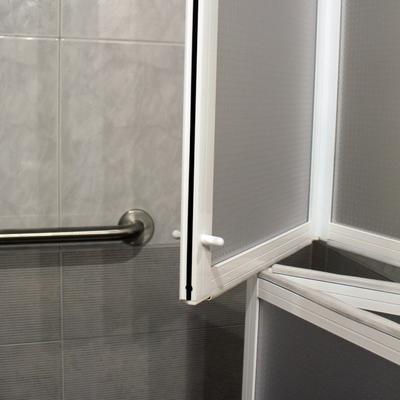 Ideas y fotos de mampara ducha doble altura para - Ducha doble ...