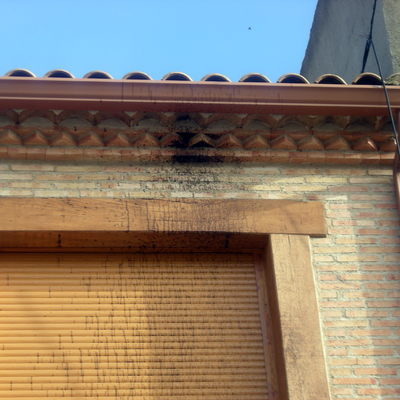 Limpieza de fachada ladrillo visto