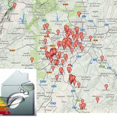 Certificados Energéticos Realizados En La Comunidad De Madrid