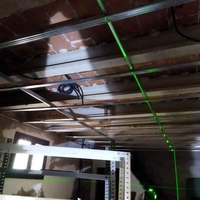 Colocacion techo pladur