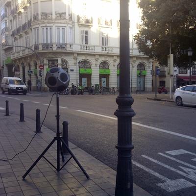 Medición acústica en cafetería de Valencia