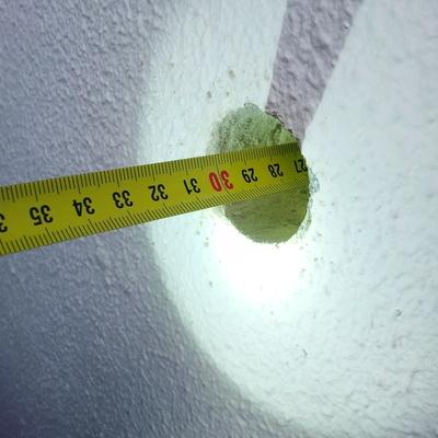 Medida cámara de aire
