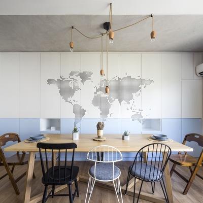 Una casa hecha para viajeros y el movimiento