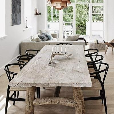 Ideas y Fotos de Mesas Comedor Madera Rústicas para Inspirarte ...