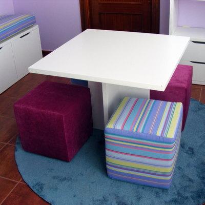 Proyecto De Estudio Y Habitación De Juegos Infantil.