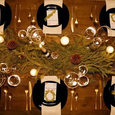 6 reglas de oro para poner la mesa en Navidad