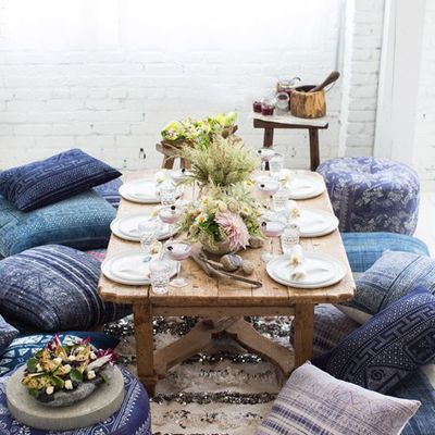 mesa picnic cojines