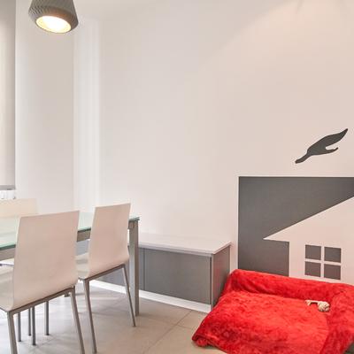 mesa y banco de office - posición 2