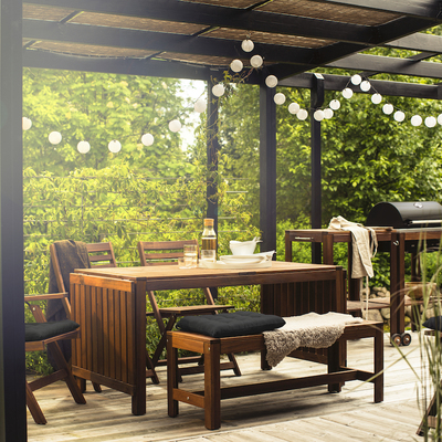 Claves para decorar un espacio exterior al aire libre