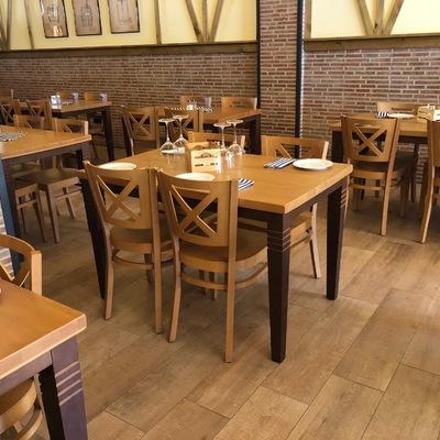 Fabricacion de Sillas Y mesas Para restaurante