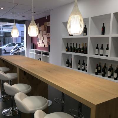 Showroom para vinoteca