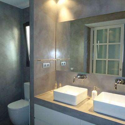 Cómo conseguir un look moderno en el baño