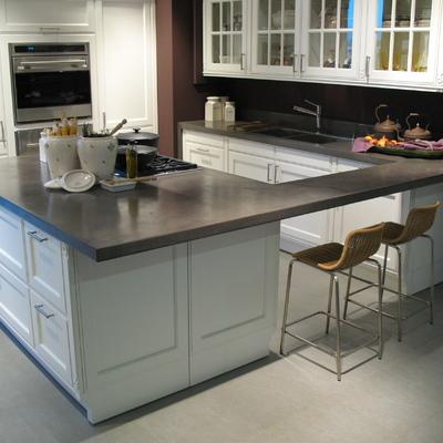 Microcemento encimera cocina