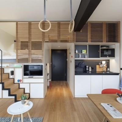 Mini apartamento en dos alturas