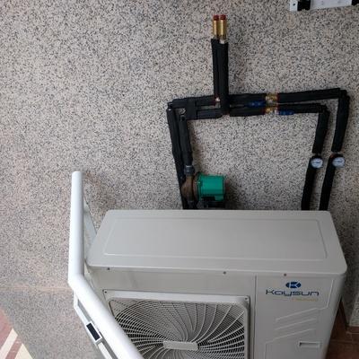 Instalación de sistema de climatización mediante minichiller y fancoils en Castellón