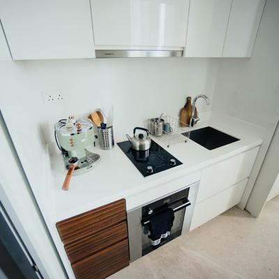 Pequeños espacios, grandes soluciones: cocinas compactas