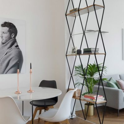 Un apartamento sencillo y muy dinámico
