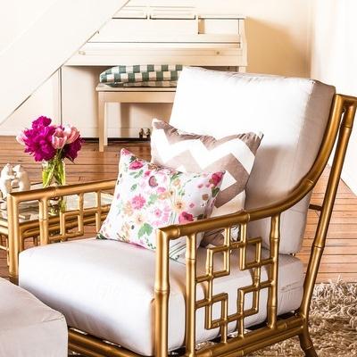 Cómo decorar con toques dorados sin resultar excesivo