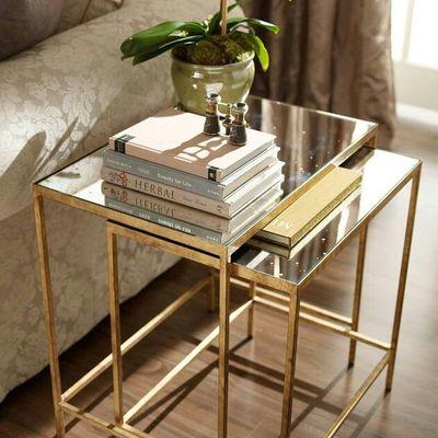mesa en dorado