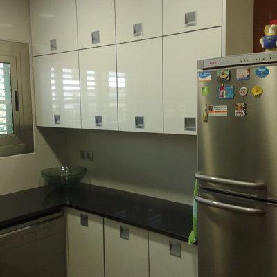 Mobiliario alto de cocina