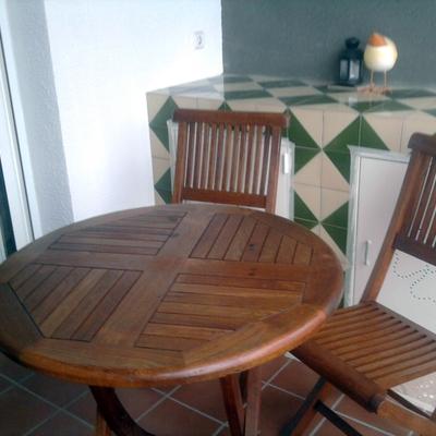Mobiliario de teca