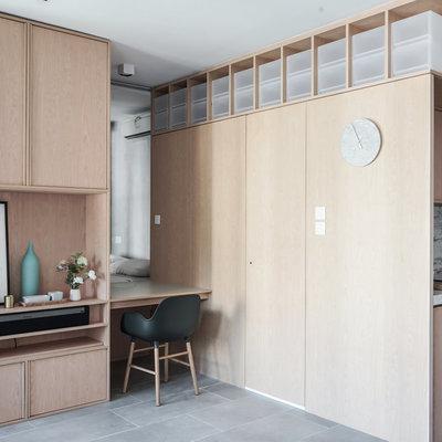 Las 7 claves del orden de este mini apartamento asiático