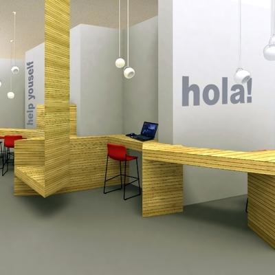 Proyecto De Diseño Interior De Hall Y Recepción De Hotel