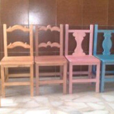 sillas y balancines para niños personalizados