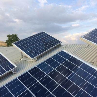 Instalacion Solar fotovoltaica.