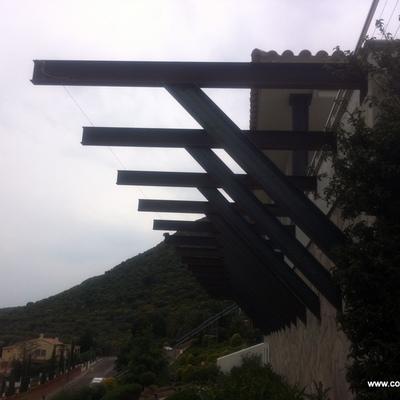 Montaje de estructura metálica 2