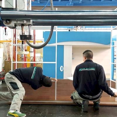 Montaje de muebles en AIDIMA para Punt Mobles en Valencia