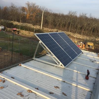 Instalación Fotovoltaica en vivienda aislada en Soto Del Real