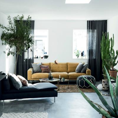 Un piso con todas las tendencias otoñales