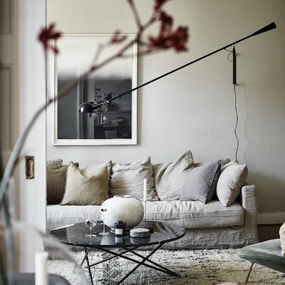 Un piso bohemio, vintage y elegante