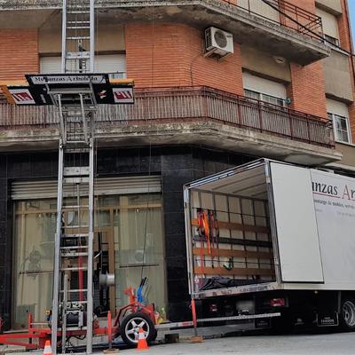Mudanza en Sant Celoni con elevador