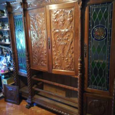 Desmontaje y montaje mueble antiguo