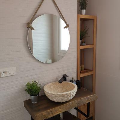7 consejos para ganarle espacio a un baño estrecho
