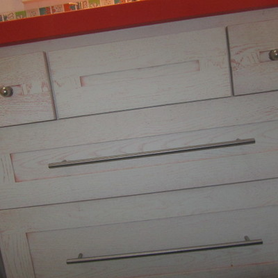 Mueble de baño a medida en madera. Modelo 5