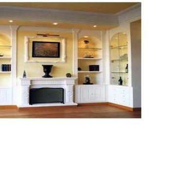 mueble de obra en salon