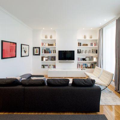 Reforma tu salón con trampa: obra seca